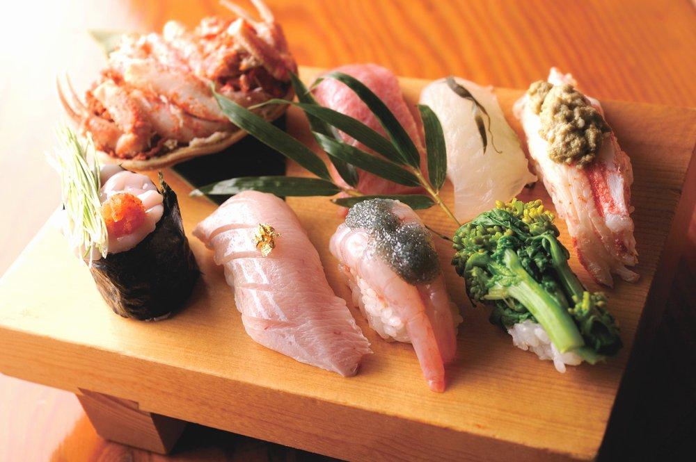 北陸のお寿司
